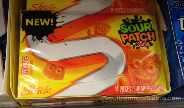 Stride Sourpatch Orange