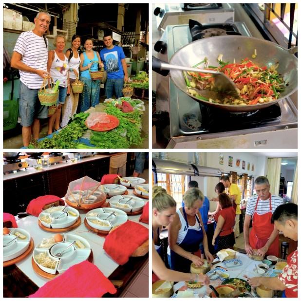 Curso cocina Chiang Mai