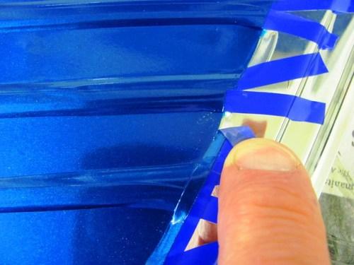 3rd Try Peeling Fine Line Tape from Beveled Edge