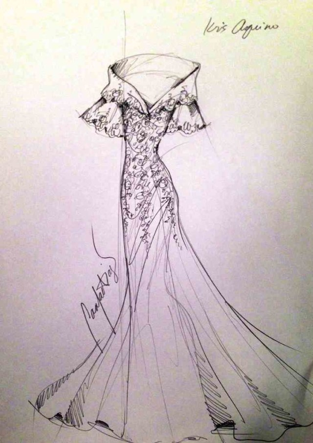 Kris Aquino Gown Sona 2014