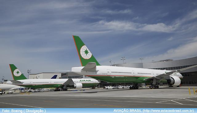 , EVA Airways (Taiwan), Portal Aviação Brasil