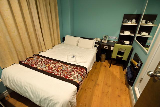 【房間】房間小小的,跟京都塔的價位差不多,但房間要更小一些。