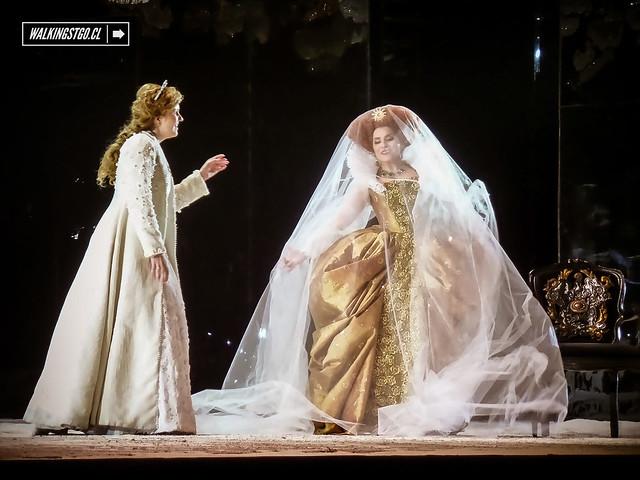 ópera Los puritanos de Vincenzo Bellini en el Teatro Municipal de Santiago 27.05.2014