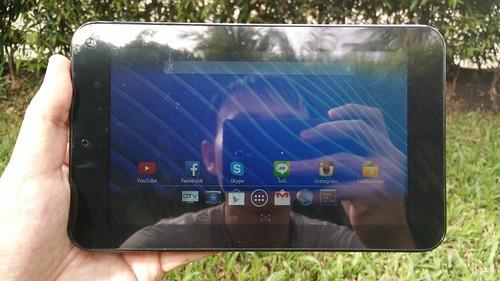 i-mobile i-TAB DTV ด้านหน้า