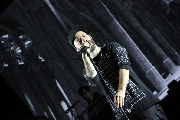Woodkid live at Frequency Festival 2014, ph Francesca Fiorini Mattei