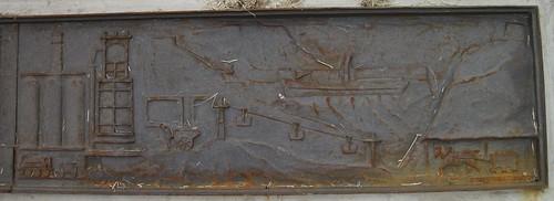 Skinningrove Works Centenary Plaque