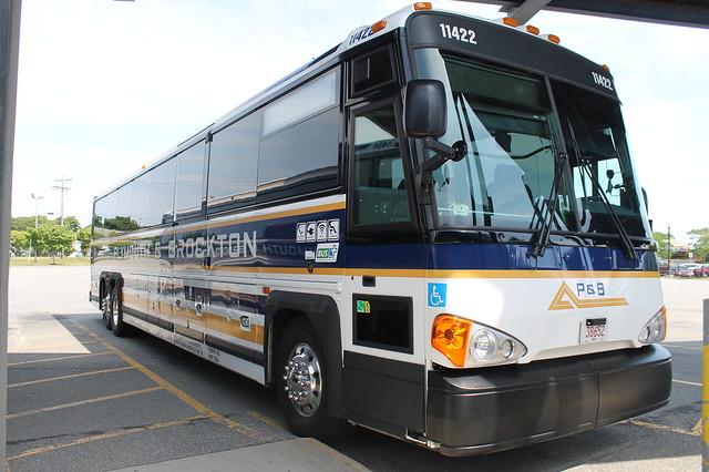 Autobús de la compañía Plymouth&Brockton