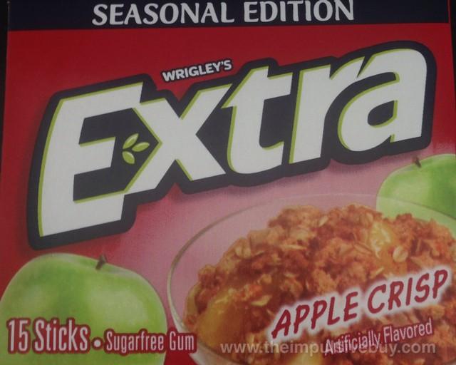 Wrigley's Extra Seasonal Edition Apple Crisp Gum
