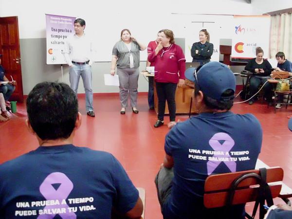 Paraguay: Dos encuentros… un mismo objetivo