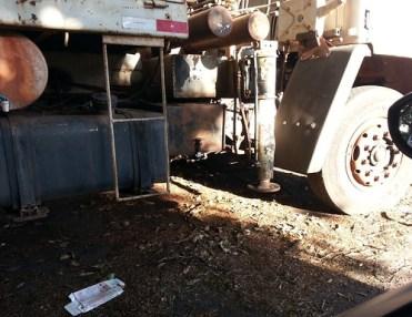 Caminhão abandonado