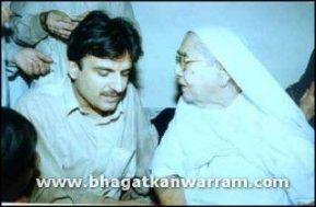Sain Jan With Mata Sahib
