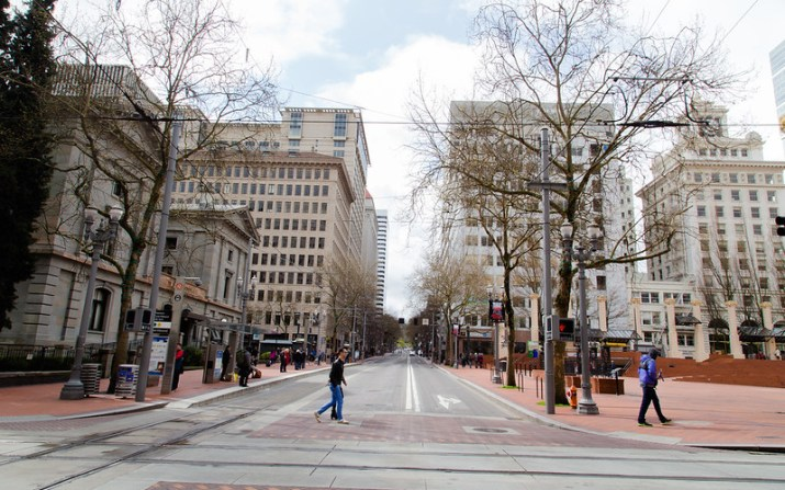 Downtown Portland | the whinery