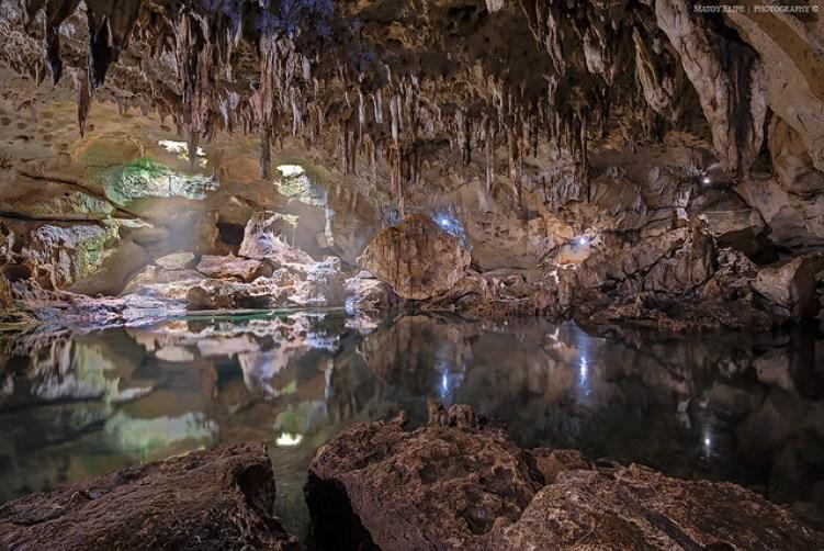 Hinagdanan Cave, Bohol