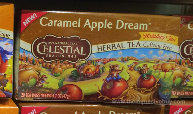 Celestial Seasonings Caramel Apple Dream Holiday Tea