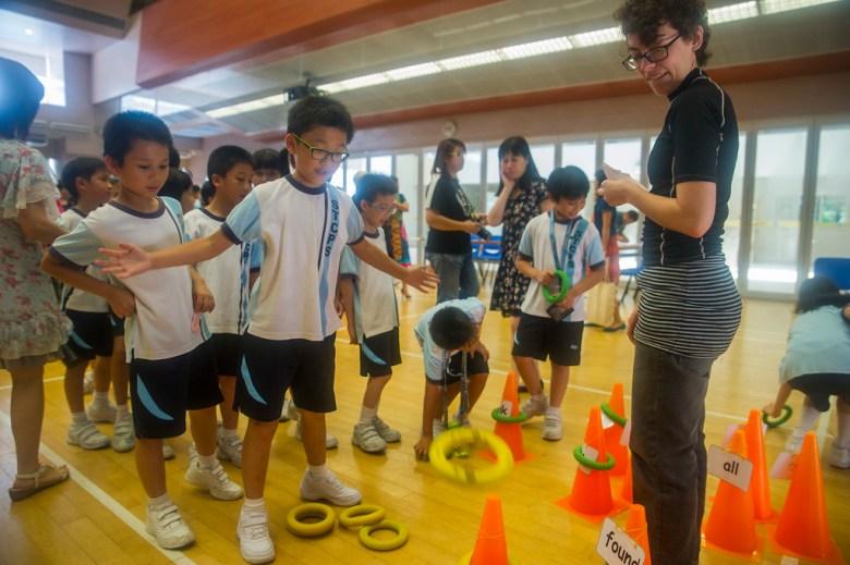 hong kong primary student photo