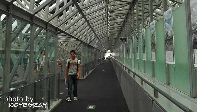 京都車站空中走廊