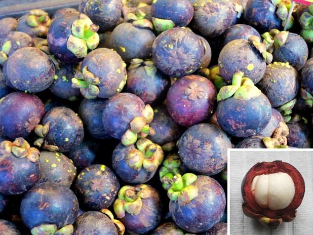 Mangostan, fruta de Asia
