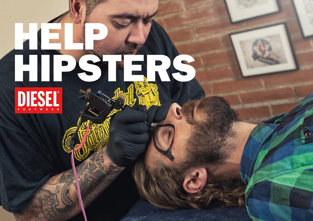 Diesel - Help Hipsters