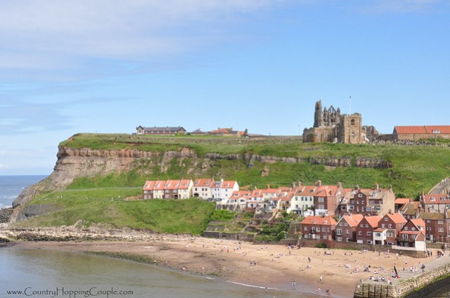 View of Whitby Abbey and Church