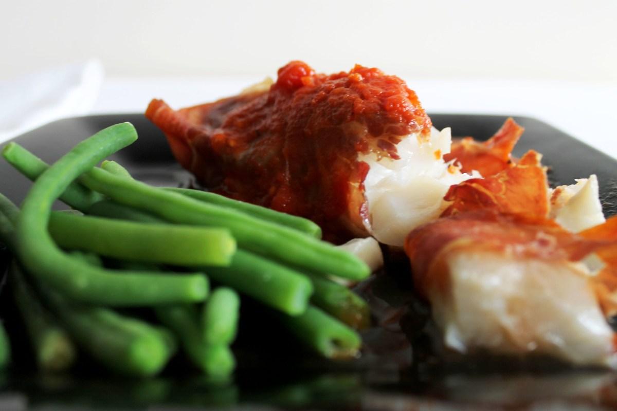 prosciutto wrapped cod