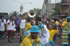 294 Sudan with the TBC Brass Band