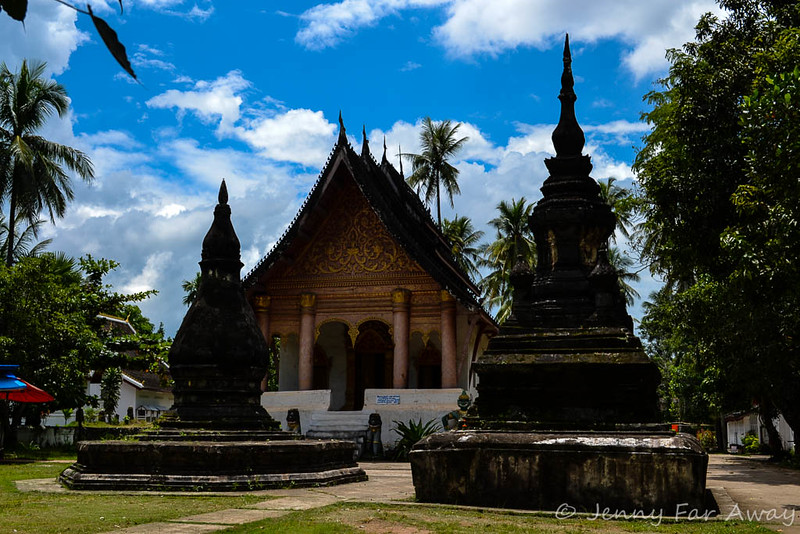 A Wat in Luang Prabang, Laos