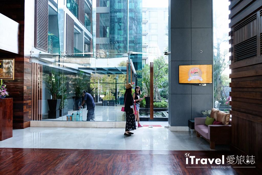 《华欣酒店推荐》尼斯公寓酒店 Nice Residence Hotel:2016年三人房型的新开业公寓式酒店,邻近Cicada创意市集。