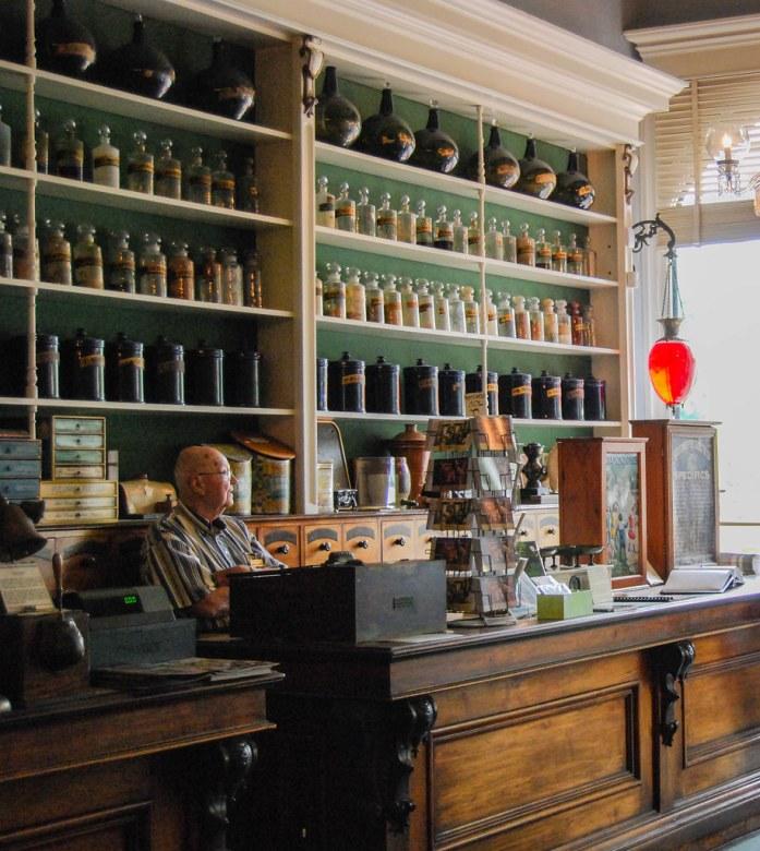 Niagara Apothecary, antigua farmacia del siglo XIX