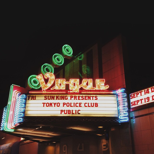 Heard some good jams tonight. {#vscocam #vsco #thevogue #igersindy #voguetheater #concert #tokyopoliceclub #indianapolis}
