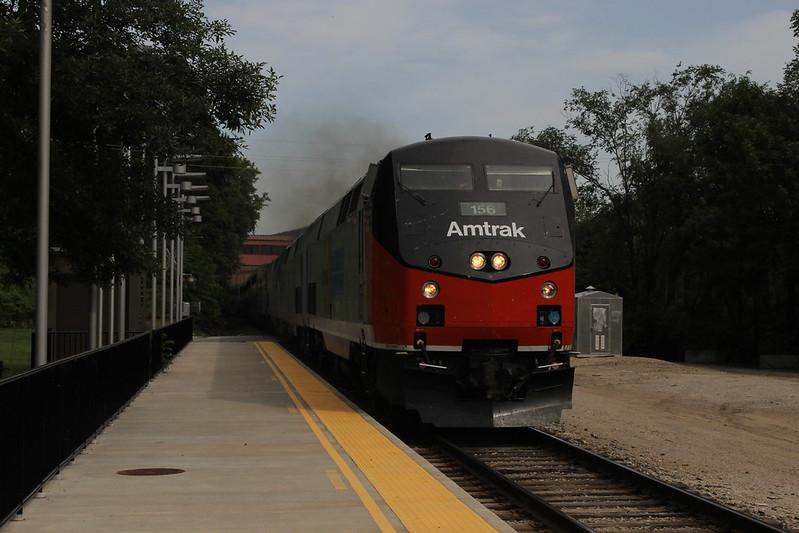 Amtrak Heritage Sweep