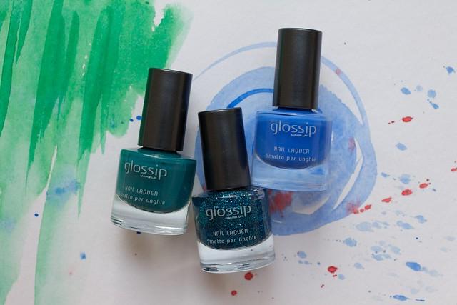 01 Glossip #46 Blue Fairy + #49 Caribbean Sea