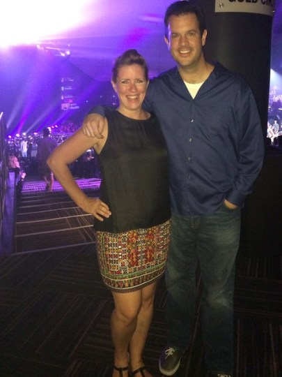 at Britney Spears Piece of Me Las Vegas Show