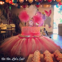 Ballerina Cake and Cupcakes [recipe]