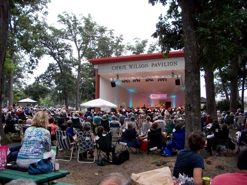 South Bend Symphony Orchestra at the Chris Wilson Pavilion Potawatomi Park