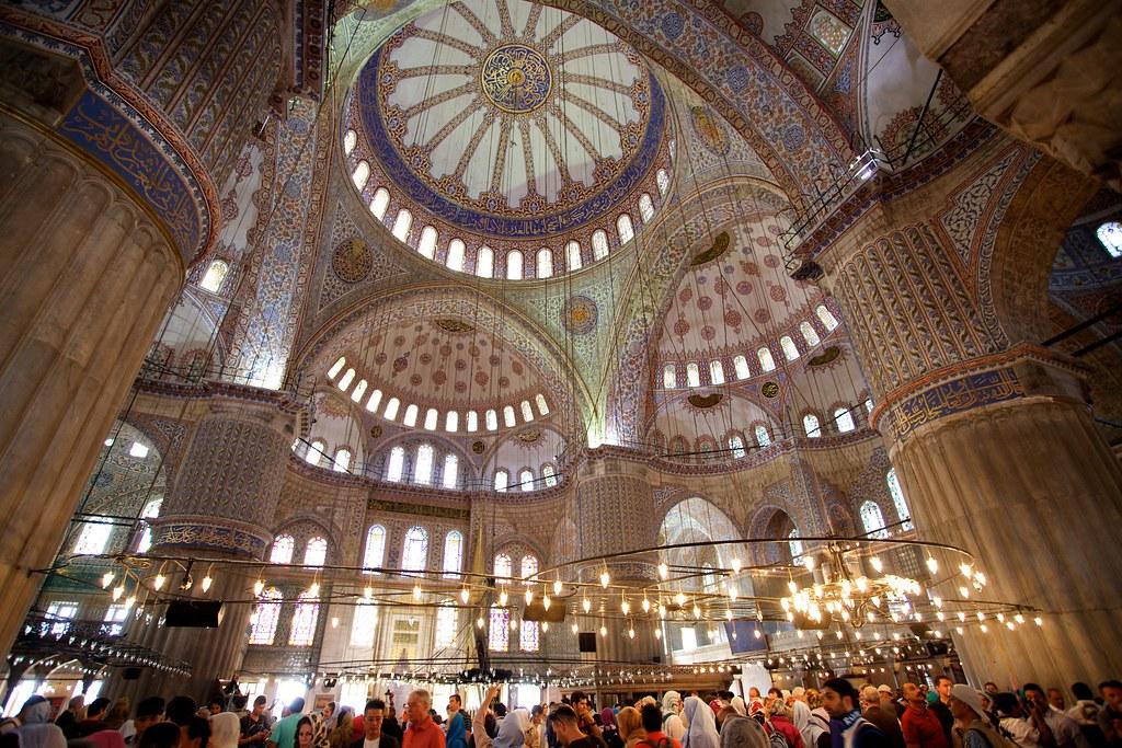 土耳其‧藍色清真寺(蘇丹阿何密特清真寺) | 捷克‧科科科