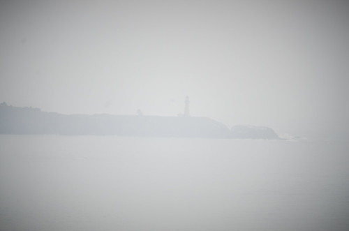 Yaquin Head Lighthouse from Foulweather Point
