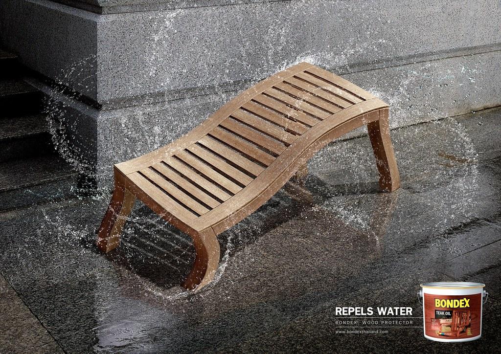 Bondex - Dog Bench Water 1