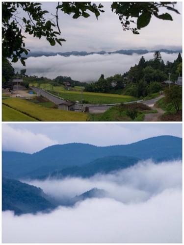 第2日目の朝は、雲海撮影でスタート!