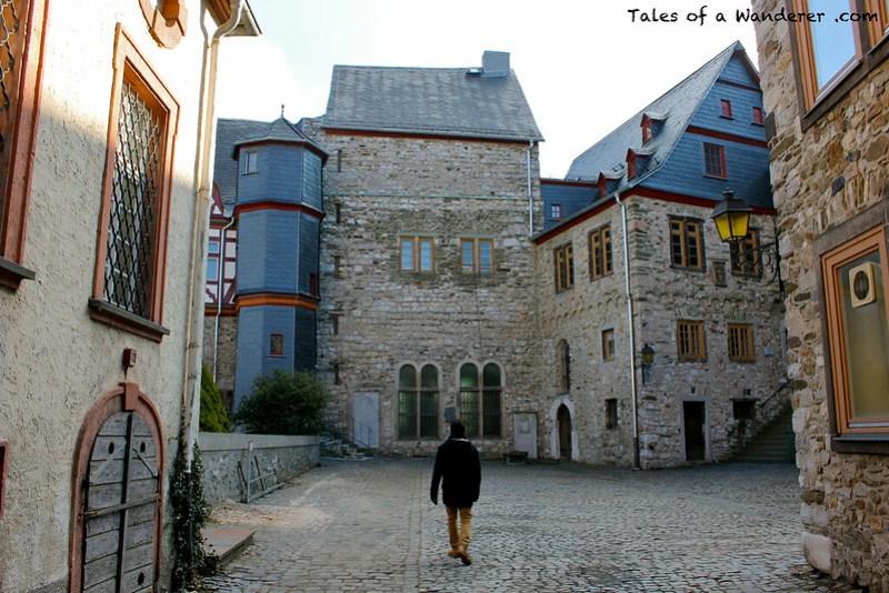 LIMBURG AN DER LAHN - Innenhof der Burg