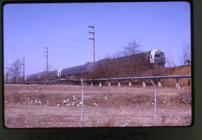 PRR metroliners at budd plant 2-68