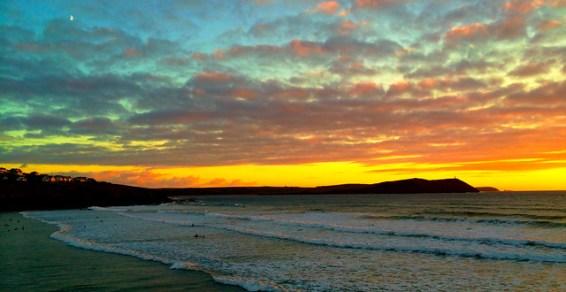 Polzeath Seascape photo