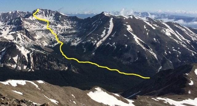 Mt. Harvard Route