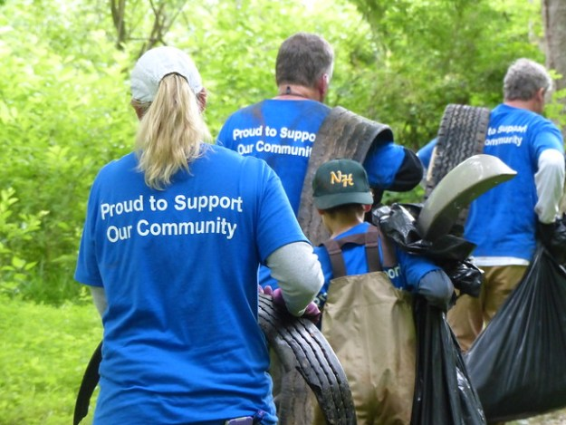 Gunpowder RIVERKEEPER service project