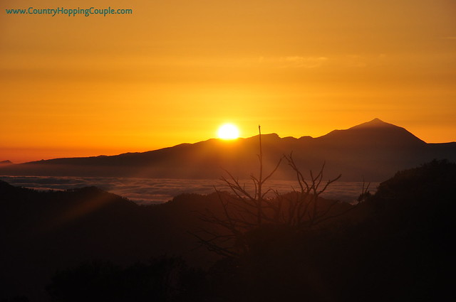 Sunsets Cruz de Tejeda