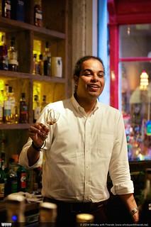 Miguel Smith laats ons genieten van wat Mount Gay Rum te bieden heeft