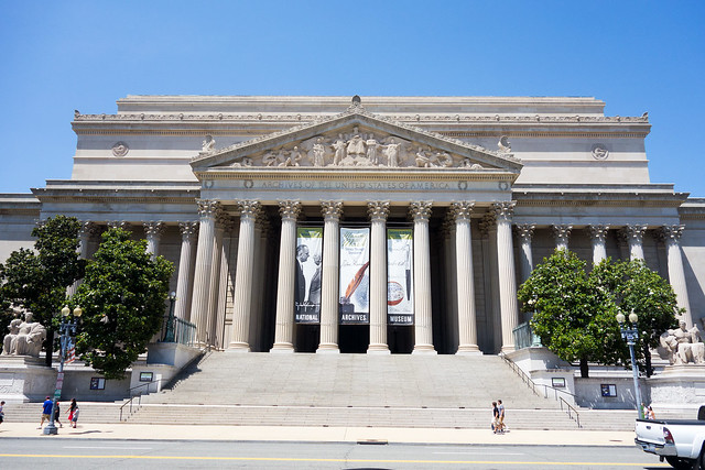 The National Archives, Washington DC.