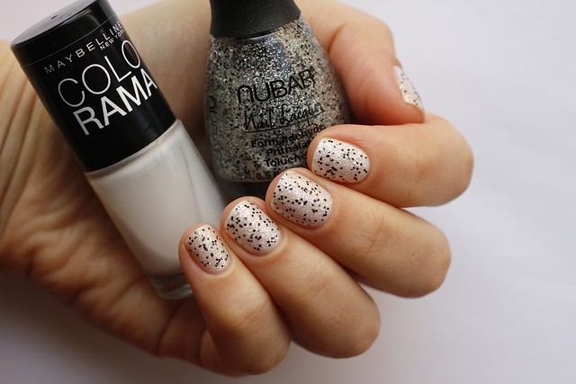 Nubar Rock Candy Crush over Maybelline Colorama #51