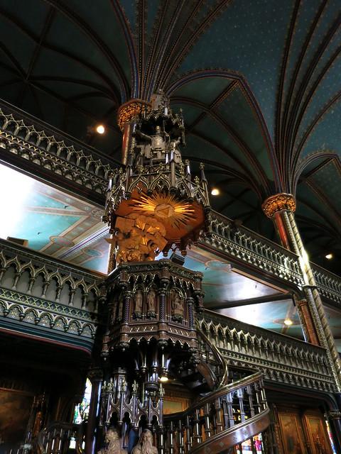Notre Dame Basilica Staircase
