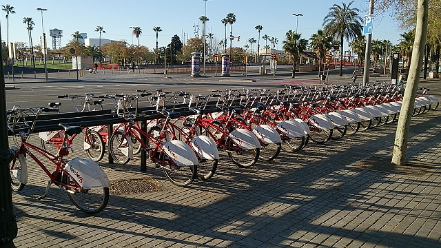バルセロナのレンタサイクル事情