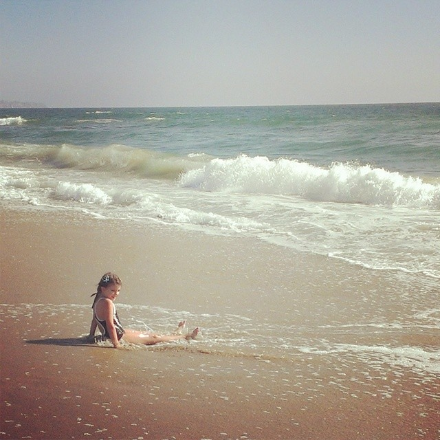 My little California girl...the beach is her home... #homeschool #beachlife #magicalchildhood